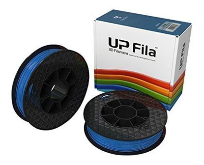 Picture of UP Fila ABS Plastic Filament, Blauw 2 x 500 g Rolls (2 stuks)