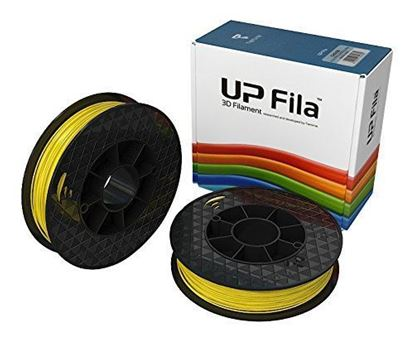 Picture of UP Fila ABS Plastic Filament, Geel 2 x 500 g Rolls (Pack of 2)