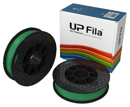 Afbeeldingen van UP Fila ABS Plastic Filament, Groen 2 x 500 g Rolls (Pack of 2)